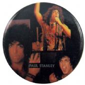 Kiss - 'Paul Stanley Pictures' Button Badge